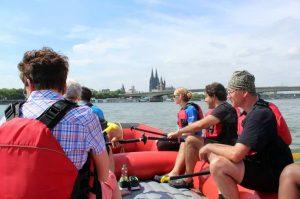 Rafting Teamevent bei Köln