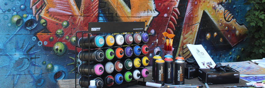 Teambuilding Events mit kreativen Graffiti Workshop von b-ceed!