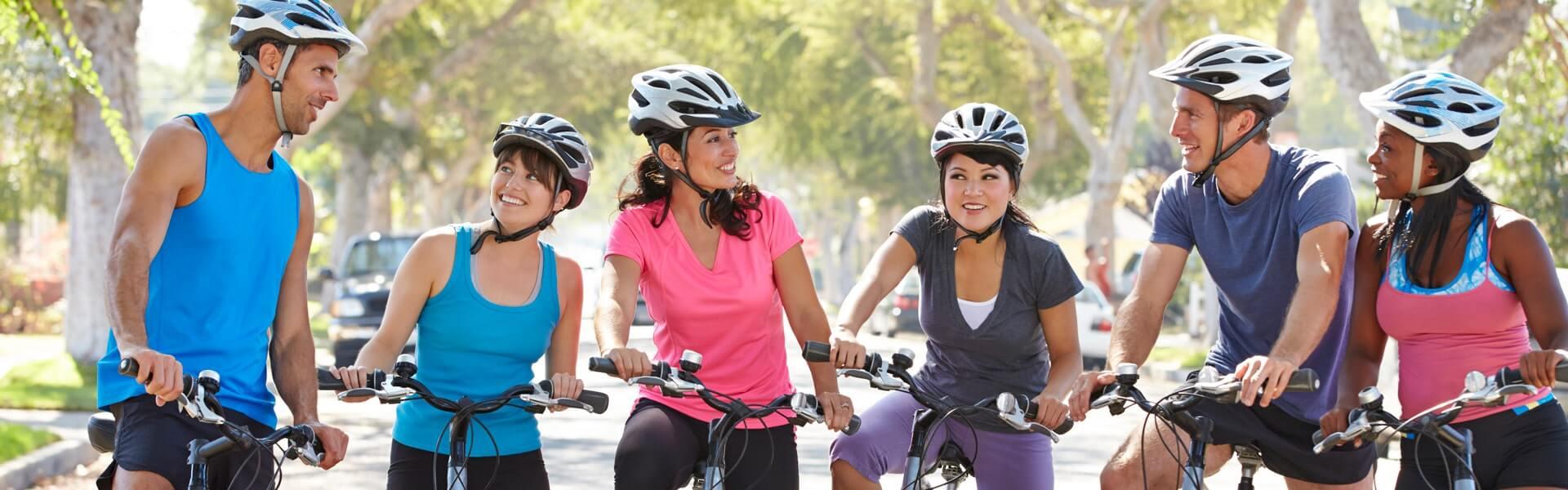 Fahrrad Schnitzeljagd mit Globe Chaser und b-ceed als outdoor Teambuilding Event