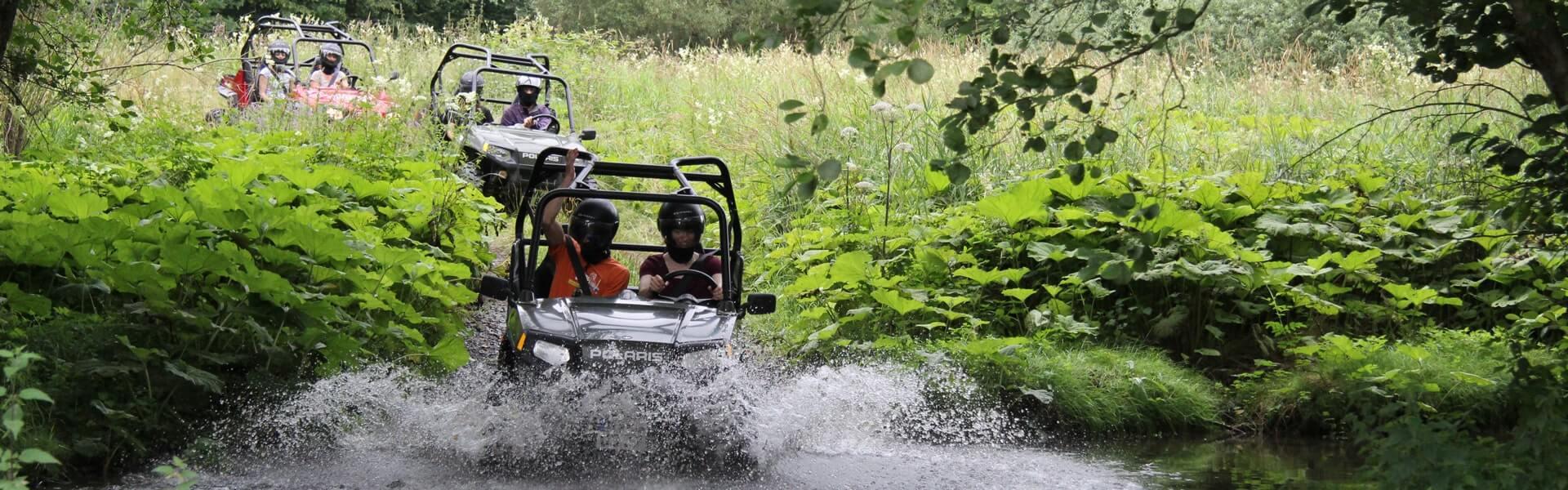 Wild Rallye Xtreme als outdoor Teambuilding Idee mit b-ceed