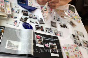 Teamevent mit Kamera und Fotobuch: Der Firmen Polaroid Comic