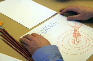 Kreativ Workshop mit Pinsel und Farbe von b-ceed