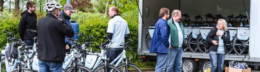 Fahrradfahren als interaktive Tour durch Ihre Wunschregion