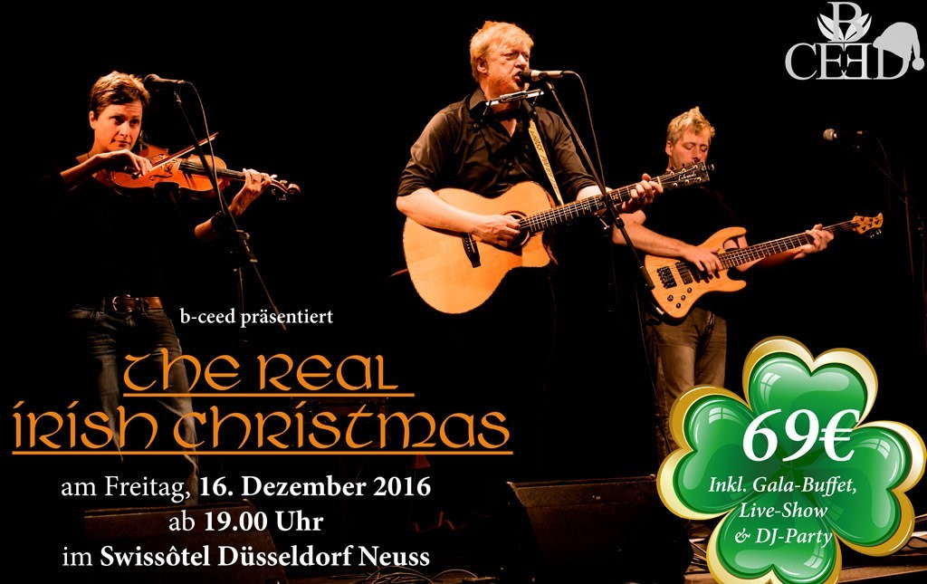 The Real Irish Christmas Party in Neuss mit Paddy Goes to Holyhead