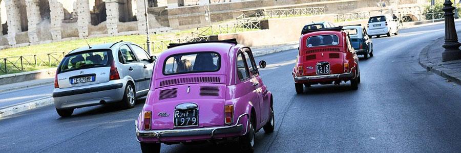 Firmenreise nach Rom mit lustiger Fiat Tour und b-ceed