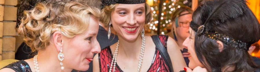 Golden Gatsby Weihnachtsfeier Idee deutschlandweit mit b-ceed events
