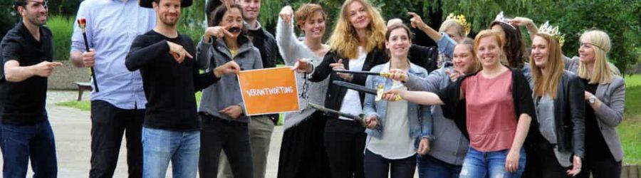 Kreatives Team Event zur Motivation - drehen Sie Trailer und küren Sie den Gewinner