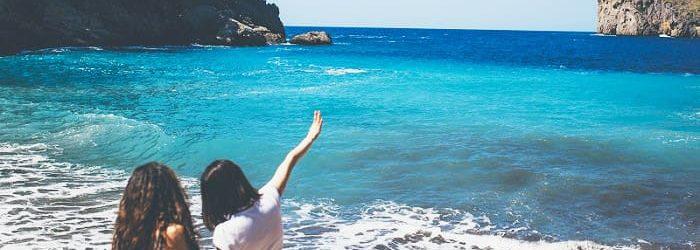 strand urlaub bei incentive reise nach mallorca mit b-ceed mit barbecue und aussicht aufs mittelmeer
