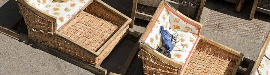 traditionelles korbschlitten gespann auf madeira - incentive reise madeira portugal mit b-ceed events