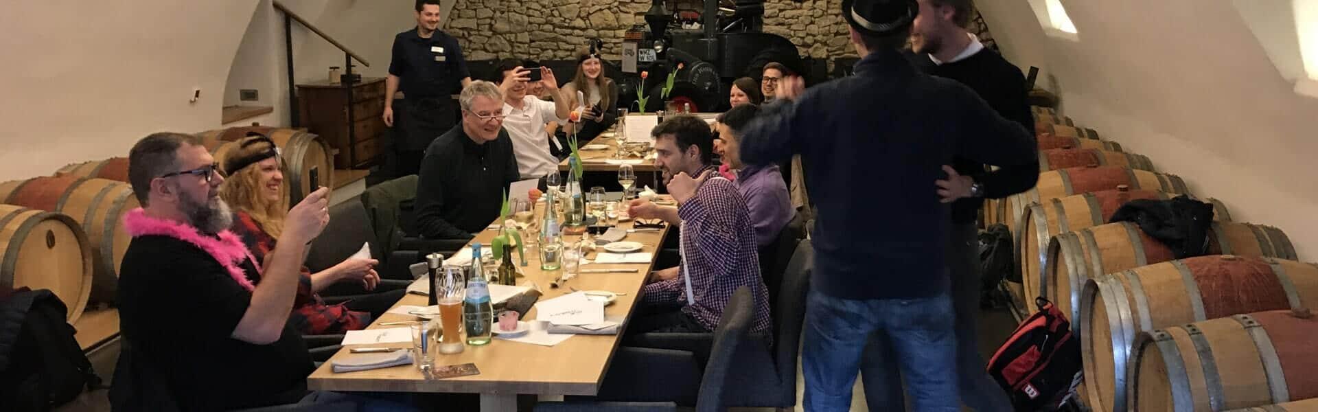 Krimi Rollenspiel mit Dinner zur Weihnachtsfeier | b-ceed: events