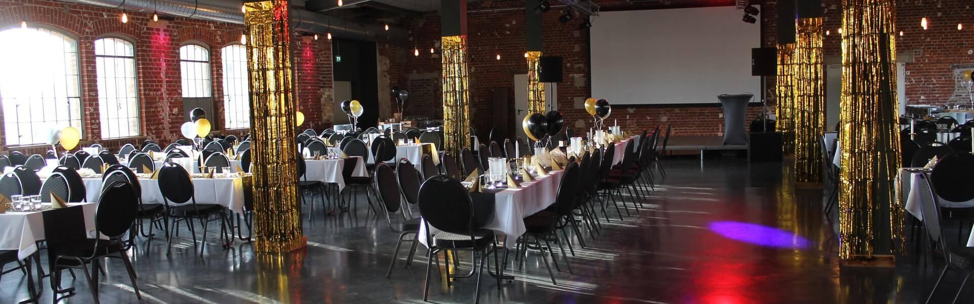 Motto Party und Weihnachtsfeier im Stil der 20er Jahre Gatsby mit b-ceed events.