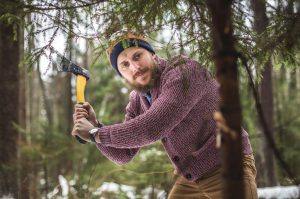 Tannenbaumschlagen in echter oder mobiler Schonung als Firmen Weihnachtsfeier