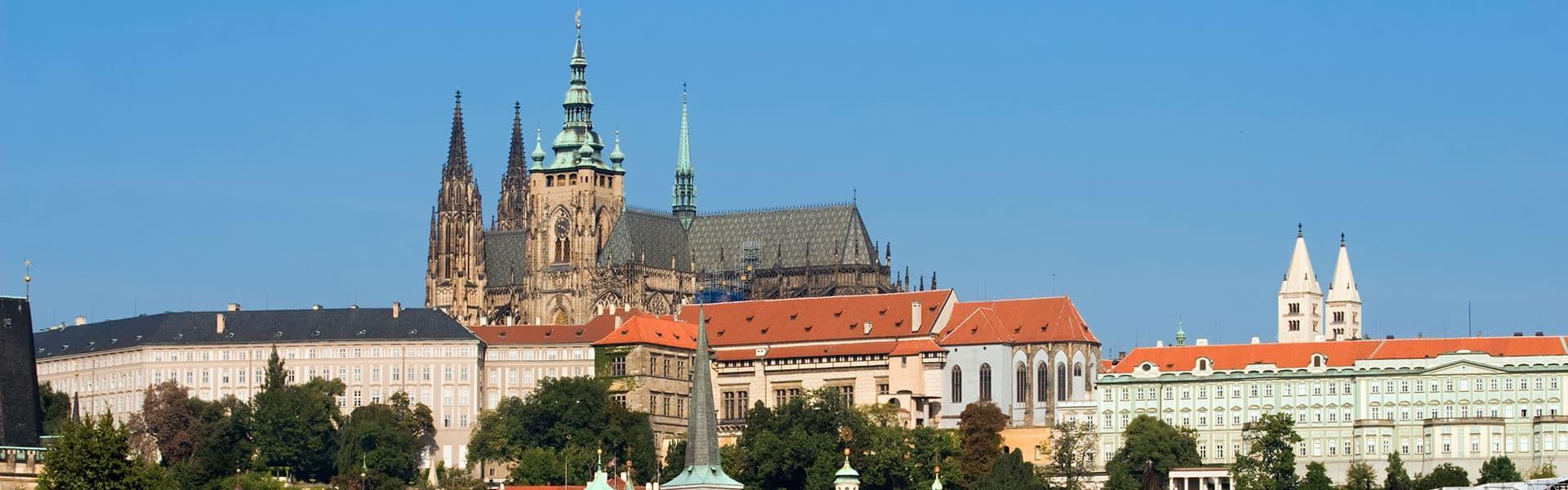 Sightseeing Prager Burk auf der Firmenreise Prag mit b-ceed eventagentur
