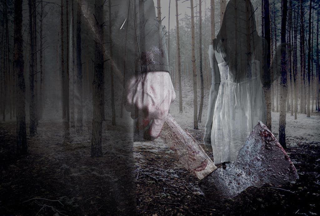mordfall im wald and halloween - horror firmenausflug ab oktober
