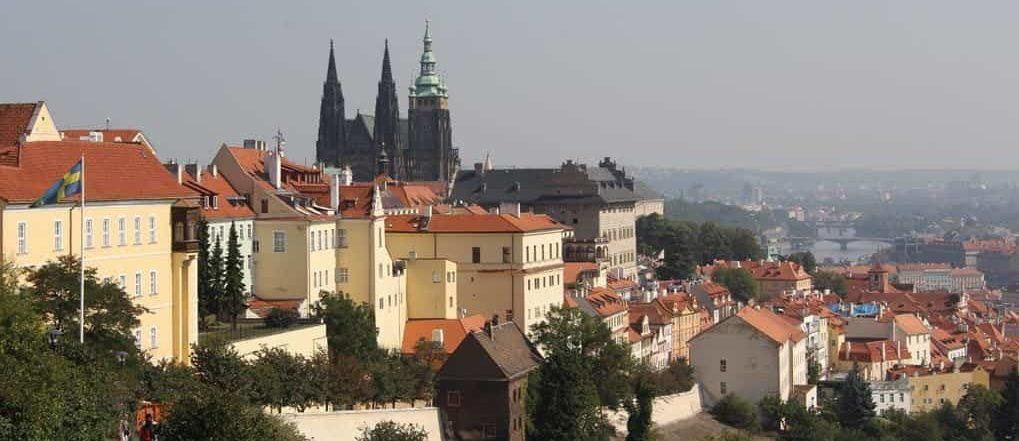 Ein Ausblick wie kein anderer über ganz Prag.