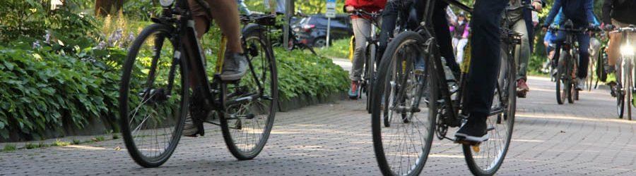 Sportliche Fahrrad Tour mit Geocaching App