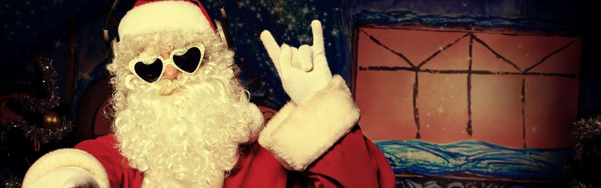 Rock'n'Roll Christmas Motto Weihnachtsfeier von b-ceed