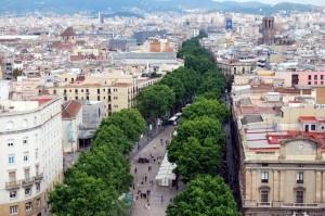 Schlendern Sie gemütlich die Ramblas entlang auf Ihrer Incentive Reise in Barcelona