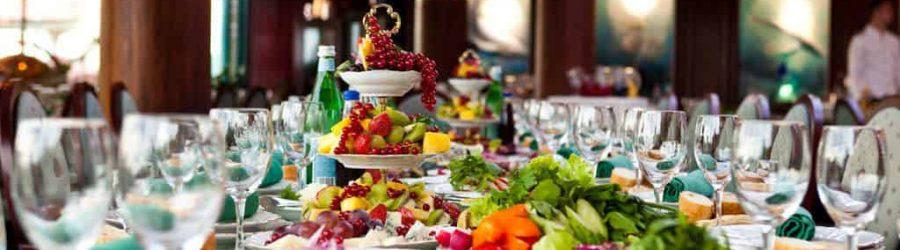 firmenfeier mit festlichem buffet deutschlandweit mit b-ceed