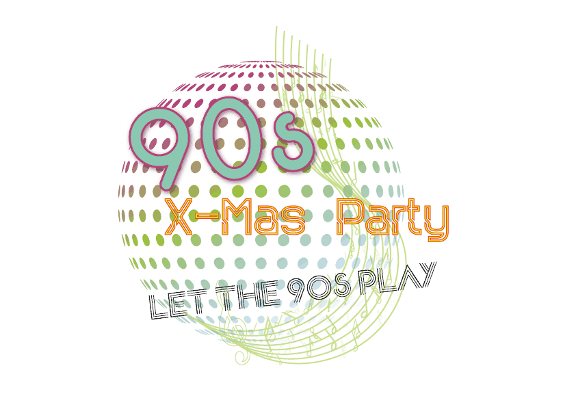 90er Motto Weihnachtsfeier 2017 in Neuss - Let the 90's play
