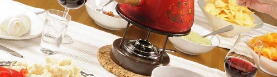 besinnliche weihnachtsfeier mit fondue abend und kommunikation im team - b-ceed