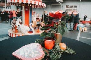 Der mobile Weihnachtsmarkt auf dem eigenen Firmengelände zur Weihnachtsfeier Mülheim an der Ruhr