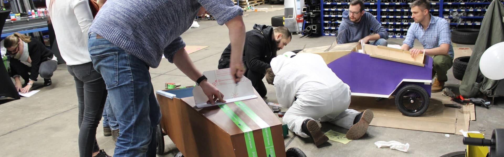 Seifenkisten Rennen mit b-ceed: Teambuilding Event bundesweit