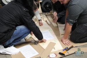 Seifenkistenbauen mit b-ceed: Teambuilding bundesweit mit echten Seifenkisten für Firmen