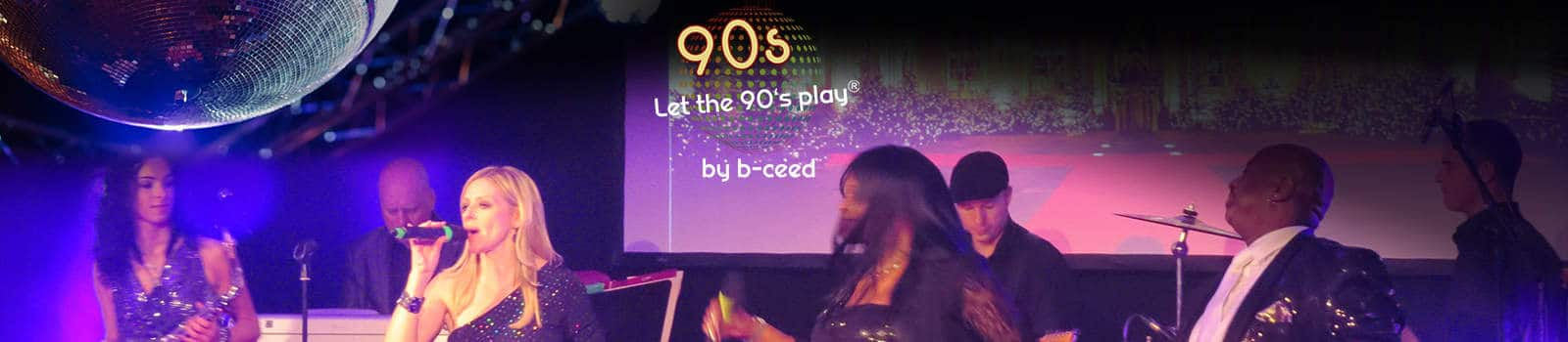 let the 90's play motto weihnachtsfeier und party in neuss