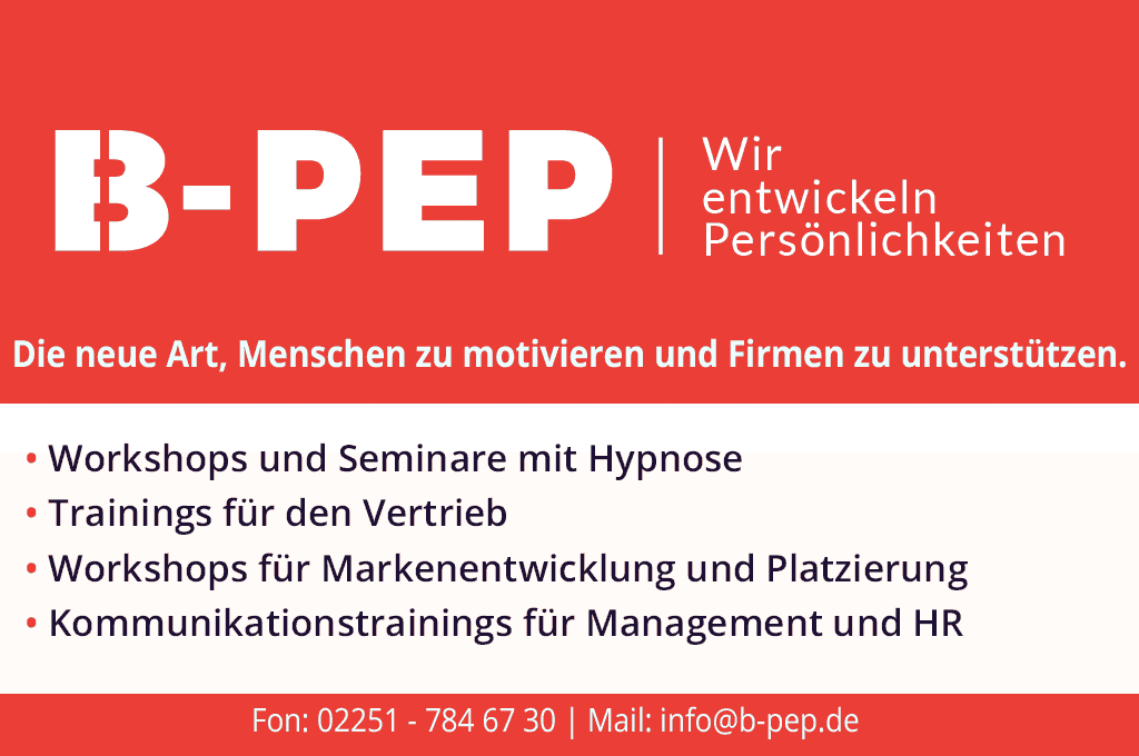 b-pep: seminaranbieter, kommunikationstrainings, persönlichkeitsentwicklung, teambuilding