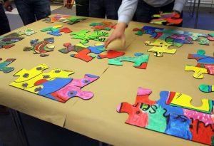 Das kreative Puzzle-Teambuilding von b-ceed