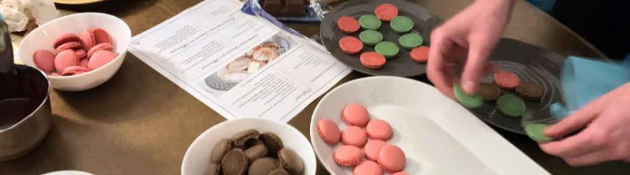 Französische Süßigkeiten bei dem Team Event Team au Chocolat von b-ceed