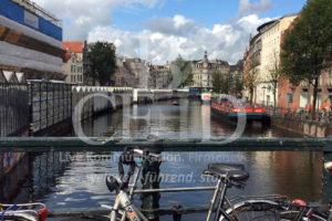 Grachten Fahrt und Fahrradtour auf der Reise nach Amsterdam mit b-ceed