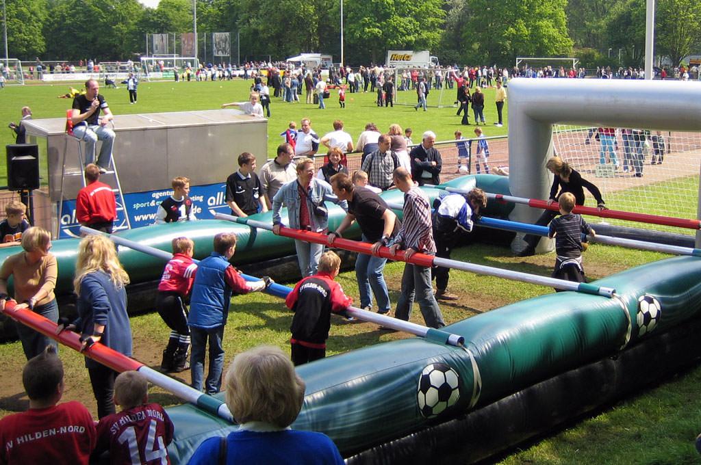 Sommerfest für Firmen zur WM mit Kindern
