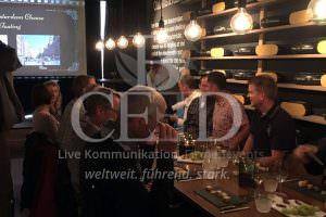 Kaese und Wein in Amsterdam auf der Firmenreise oder dem Betriebsausflug geniessen mit b-ceed: travel