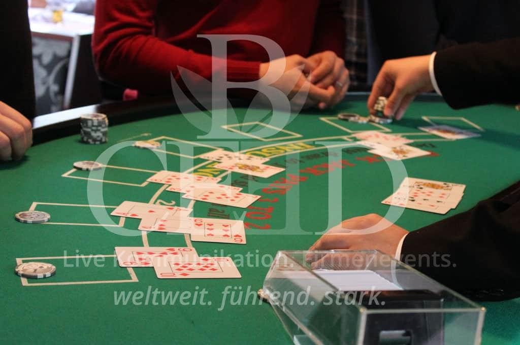 Mobiles Casino Entertainment zu Weihnachten mit b-ceed: events