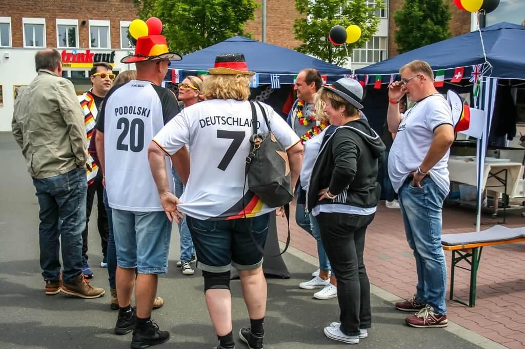 Das Sommer Fußball Dorf zur EM mit b-ceed