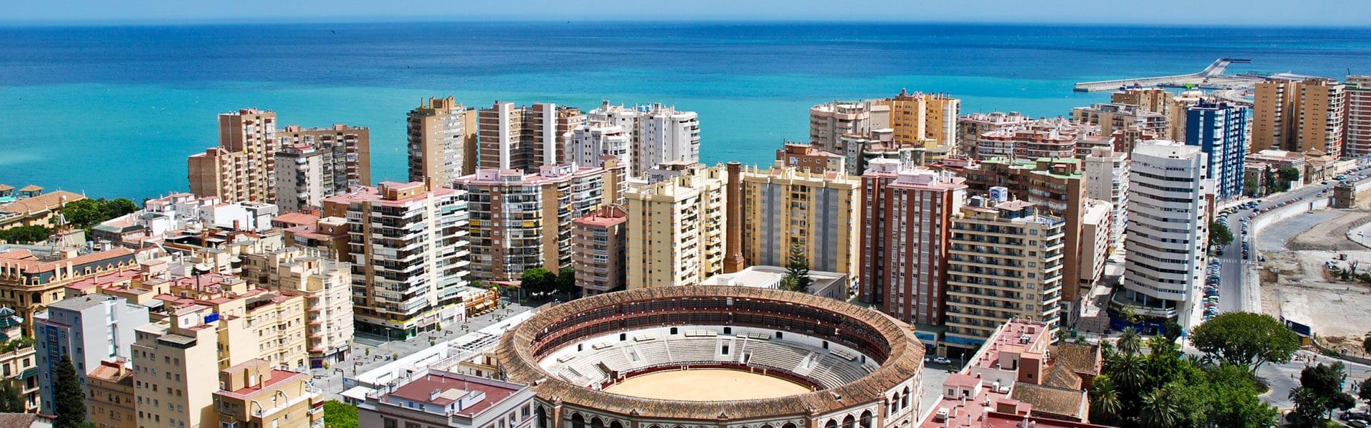Stierkampfarena in Malaga - die Städtereise nach Andalusien mit b-ceed