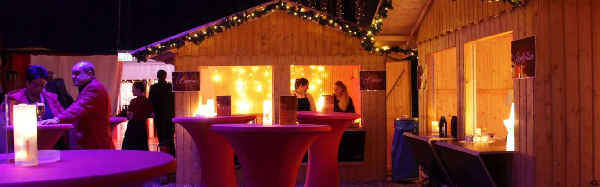 Mobile Après Ski Party auf Ihrem Firmengelände als Weihnachtsfeier Idee b-ceed