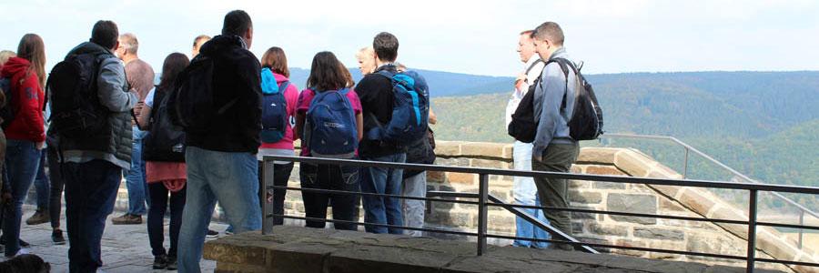 Der kreative Betriebsausflug Ranger Tour Felsennest Eifel mit b-ceed!