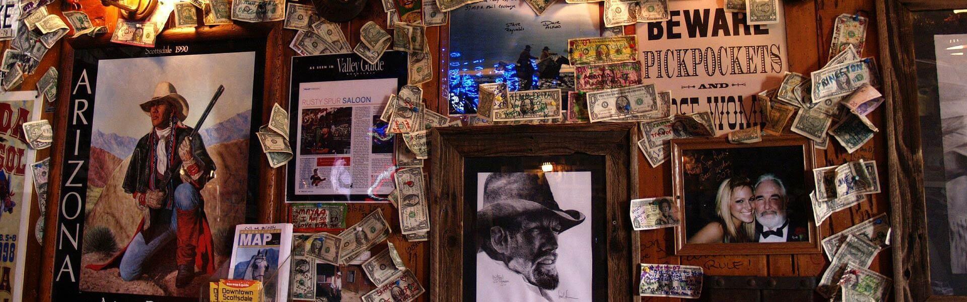 Western Saloon als Location für die Wild West Christmas Party Weihnachtsfeier b-ceed