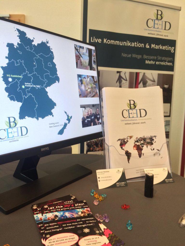 b-ceed Erfahrungen bei der career@office Messe in Köln | b-ceed: events!