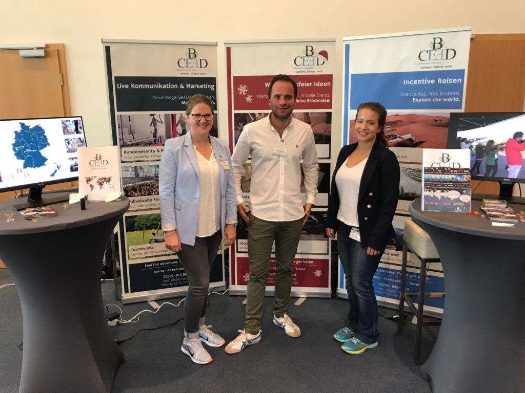 b-ceed Messe Erfahrung bei der career@office Messe in Köln | b-ceed: events!