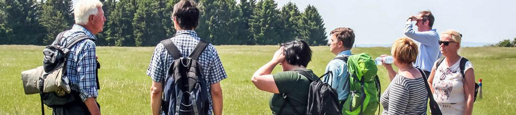 Teamausflug Eifelwanderung durch die Natur mit Ranger und b-ceed: events!