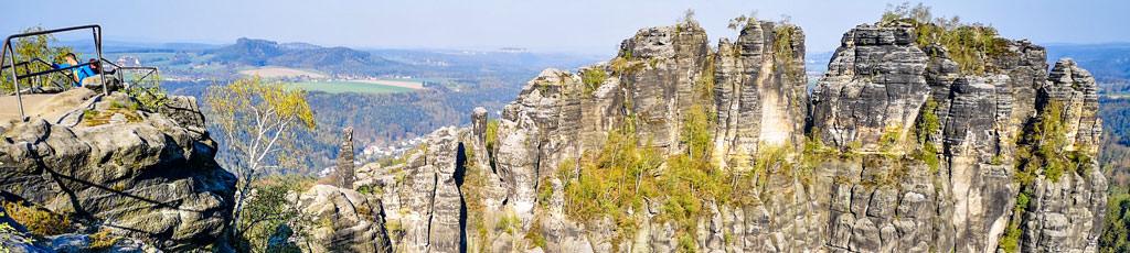 Das Elbsandsteingebirge der Sächsischen Schweiz erkunden mit b-ceed: events!