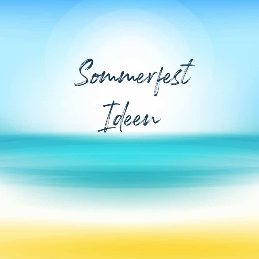 Sommerfest Ideen für die Firma bei b-ceed