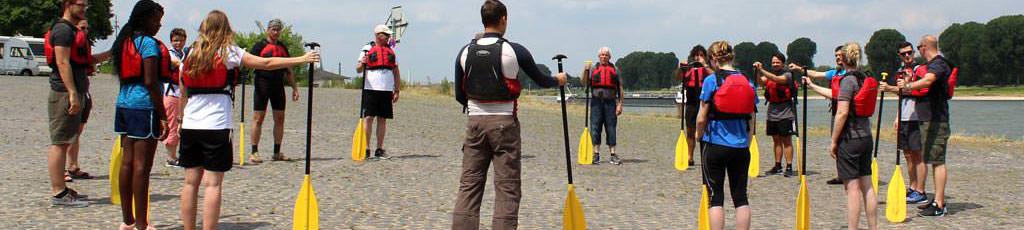 Die Sommerfest Idee auf dem Wasser: Rafting mit b-ceed!