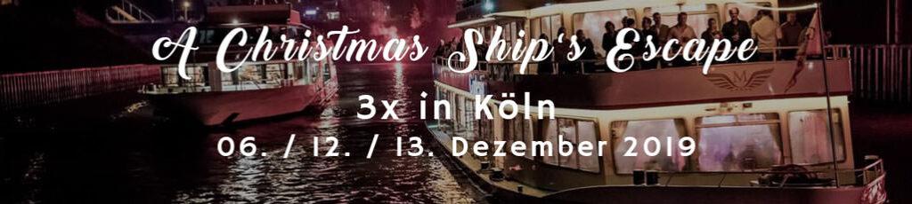 Die Firmen Weihnachtsfeier in Köln auf dem Schiff genießen b-ceed: events!