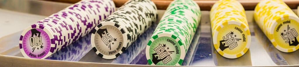Casino mobil als Rahmenprogramm für die Firmenfeier mit b-ceed: events