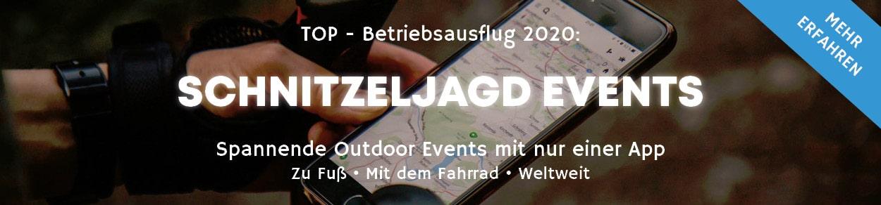 Betriebsausflug Schnitzeljagd Events 2020